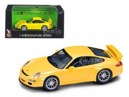 Porsche 911 997 GT3 Yellow Signature Series 1/43 Diecast Model Car Road Signature 43205