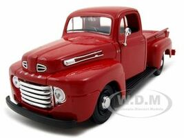 1948 Ford F-1 Pickup Red 1/25 Diecast Model Car Maisto 31935