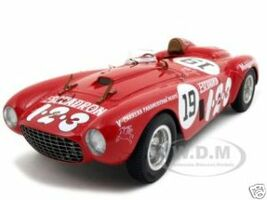 Ferrari 375 Plus V #19 Carrera Panamericana Winner 1:18 Diecast Car Model BBR 18004