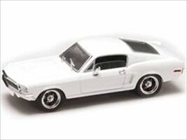 1968 Ford Mustang GT White Signature Series 1/43 Diecast Car Road Signature 43206