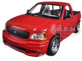 Ford SVT F-150 Lightning Red Pickup Truck 1/21 Diecast Model Car Maisto 31141