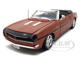 1968 Chevrolet Camaro SS 396 Convertible Bronze 1/24 Diecast Model Car Maisto 31257