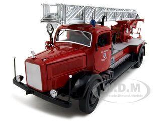 1944 Mercedes L4500F Fire Engine Red 1/24 Diecast Car Road Signature 20228