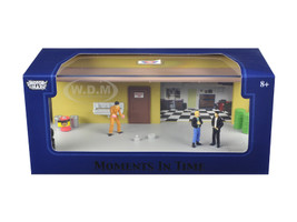 "Diorama ""Garage Scene"" Place Your Own Car Inside 1/43 Motormax 73861"