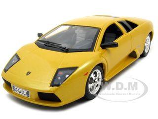 Lamborghini Murcielago Yellow 1 24 Diecast Model Car Bburago 22054