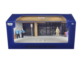 "Diorama ""Airport Scene"" Place Your Own Car Inside 1/43 Motormax 73864"