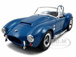 1966 Shelby Cobra Super Snake Blue 1/18 Diecast Model Car Shelby Collectibles 125