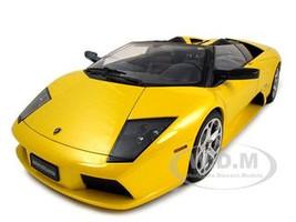 Lamborghini Murcielago Roadster Yellow 1/12 Diecast Car Autoart 12081