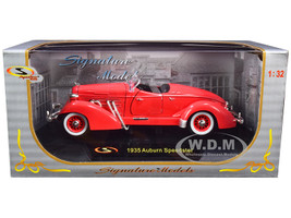 1935 Auburn Speedster Coral 1/32 Diecast Car Model Signature Models 32439