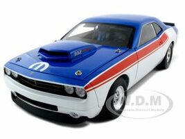 Dodge Challenger Concept R/T 392 Super Stock Red/White/Blue 1 of 600 Made 1/18 Diecast Model Car Highway 61 50721