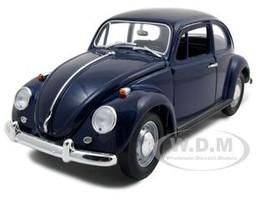 1967 Volkswagen Beetle Blue 1/18 Diecast Car Road Signature 92078
