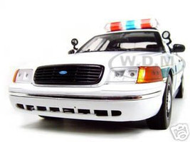 Ford Crown Victoria Border Patrol Car 1/18 Diecast Model Car Motormax 73513