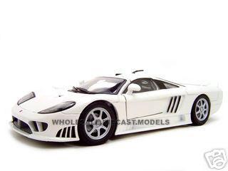 Saleen S7 White 1/18 Diecast Model Car Motormax 73117