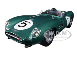 1959 Aston Martin DBR1 #5 1/18 Diecast Model Car Shelby Collectibles 106