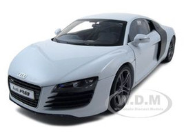 Audi R8 Diecast Car Model 1/18 Suzuka Gray Die Cast Car Model by Kyosho