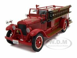 1928 Reo Fire Engine 1/32 Diecast Car Model Signature Models 32308