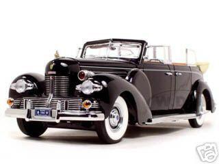 1939 Lincoln Sunshine V12 Limousine 1/24 Diecast Model Car Road Signature 24088