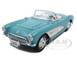 1957 Chevrolet Corvette Turquoise1/24 Diecast Model Car Maisto 31275