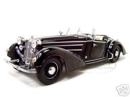 1939 Horch 855 Roadster Black 1/18 Diecast Car Model Sunstar 2401