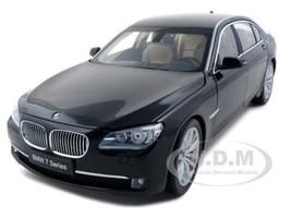 2009 2010 2011 BMW 750Li F02 7 Series Citrine Black 1/18 Diecast Model Car Kyosho 08781
