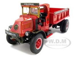 Mack AK Dump Truck Colonial Quarry Company  Diecast Car Model 1/34 by First Gear