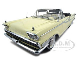 1959 Mercury Parklane Convertible Yellow Platinum Edition 1/18 Diecast Model Car Sunstar 5152
