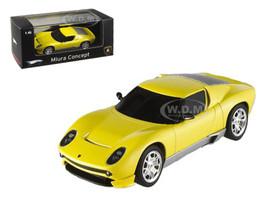 Lamborghini Miura Concept Yellow Elite Edition 1/43 Diecast Model Car Hotwheels P4882