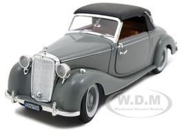 1950 Mercedes 170s Soft Top Gray 1/32 Diecast Model Car Signature Models 32375