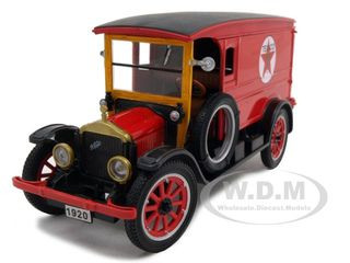 1920 White Delivery Van Texaco Red 1/32 Diecast Car Model Signature Models 32322