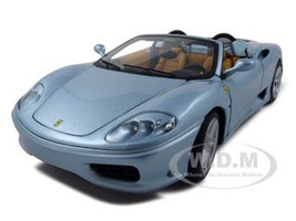 "Ferrari 360 Modena Spider ""The Italian Job"" Movie Elite Edition 1/18 Diecast Model Car Hotwheels P9905"