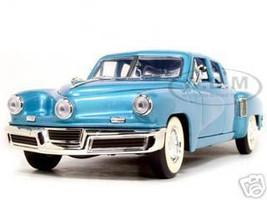 1948 Tucker Torpedo Blue 1/18 Diecast Model Car Road Signature 92268