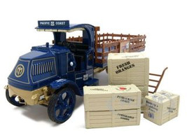 Mack AC Pacific Highway 101 Stake Truck With Boxes & Dolly Diecast Car Model 1/34 by First Gear