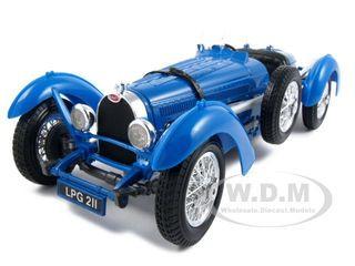 1934 Bugatti Type 59 Blue 1/18 Diecast Model Car Bburago 12062