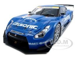 Nissan GT-R Super GT 2008 Calsonic Impul #12 1/18 Diecast Car Model Autoart 80877