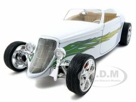 1933 Ford Roadster White 1/18 Diecast Car Road Signature 92838