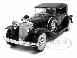 1932 Chrysler Lebaron Black 1/32 Diecast Car Model Signature Models 32316