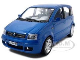 Fiat Nuova Panda Blue 1/24 Diecast Model Car Bburago 22053