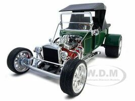 1923 Ford T-Bucket Soft Top Green 1/18 Diecast Model Car Road Signature 92829
