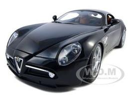 Alfa Romeo 8C Competizione Black 1/18 Diecast Model Car Bburago 12077