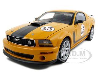 Parnelli Jones Saleen Mustang #15 Orange 1/18 Diecast Model Car Autoart 73055