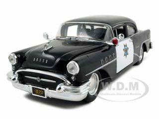 1955 Buick Century Police 1/26 Diecast Model Car Maisto 31295