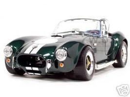 1964 Shelby Cobra 427 S/C Green 1/18 Diecast Model Car Road Signature 92058