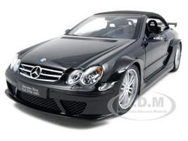 Mercedes CLK DTM AMG Convertible Black 1/18 Diecast Car Model Kyosho 08462