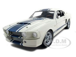 1967 Shelby Mustang GT 500 Super Snake White 1/18 Diecast Model Car Shelby Collectibles 187