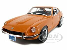 1971 Datsun 240Z Orange 1/18 Diecast Model Car Maisto 31170