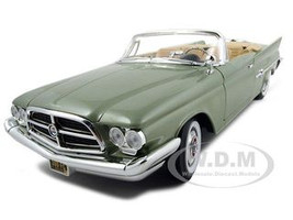 1960 Chrysler 300F Green 1/18 Diecast Car Model road signature 92748