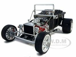 1923 Ford T-Bucket Roadster Black 1/18 Diecast Car Model Road Signature 92828
