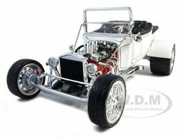 1923 Ford T-Bucket Roadster White 1/18 Diecast Car Model Road Signature 92828