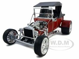 1923 Ford T-Bucket Soft Top Red 1/18 Diecast Car Road Signature 92829
