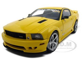 2007 Saleen Mustang S281 Extreme Yellow 1/18 Diecast Model Car Autoart 73058
